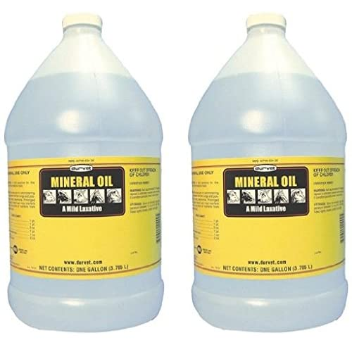 (2 Pack) Mineral Oil 1 Gallon each