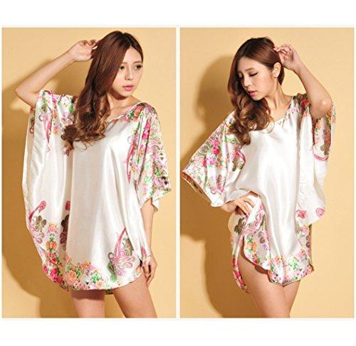 2 Silk Modelli Summer Colore Dimensione Pigiama donna grandi shirt T Comfort da size shirt di NEIYI Ms One 1 CUIYAN Bat dimensioni donna esplosione di 0dw4qAR