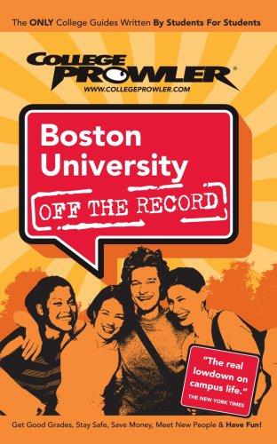Boston University: Off the Record - College Prowler