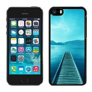 XiFu*MeiBeautiful Custom Designed Cover Case For iphone 4/4s With Lake Pier Phone CaseXiFu*Mei