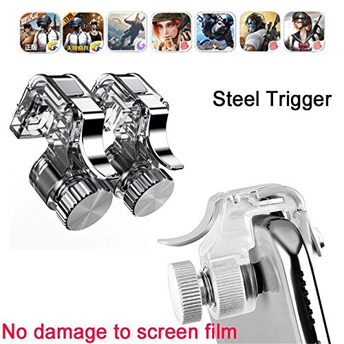 Aoile PUBG Mobile Controller Mobile Game Controller, L1R1 Gaming Trigger Mobile Phone Fire Button Handle Grip Shooter Controller