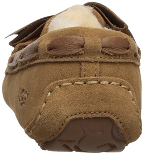 Pantofola Arco In Pelle Dakota Da Donna In Pelle Dakota, Castagna, 9 M Ci Castagna