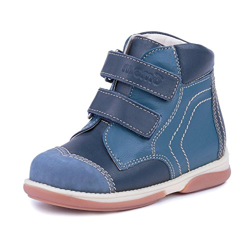 Memo Karat 3DA Diagnostic Sole High-Top Orthopedic Leather Spring/Autumn Boot, 26 (9T)