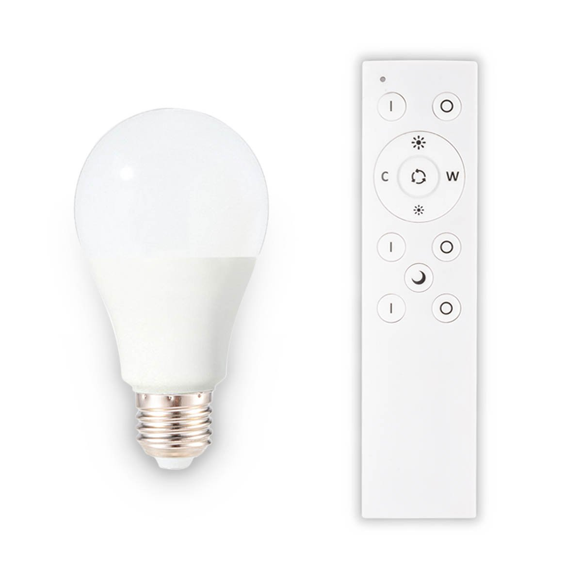 Sunix Dimmable LED Light Bulb and Remote Controller, Brightness and Temperature Adjustable