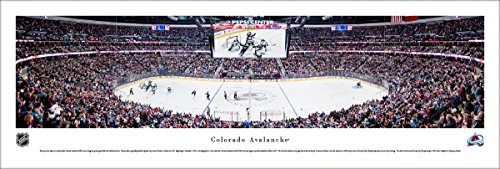 Colorado Avalance Hockey - Unframed 40x13.5-inch NHL Poster by Blakeway Panoramas ()