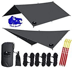 🔵 Chill Gorilla, a US-Based company. 100% Customer Satisfaction Rating       BEAT THE RAIN! Do you need sound, foul-weather protection? Chill Gorilla's SUPER-FLY sets up fast, packs light, and keeps you dry.                 NEW AND IMP...