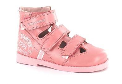 fe5139c6cf Bartek Girls Orthopedic Leather High Shoes Closed Toe Pink 71326/N36 ( Toddler/Little