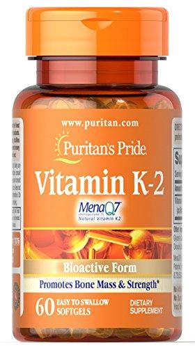 Puritans Pride Vitamin K-2 Menaq7 50 Mcg