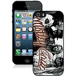 Popular And Durable Custom Designed Case For iPhone 5 With Motley Crue Black Phone Case