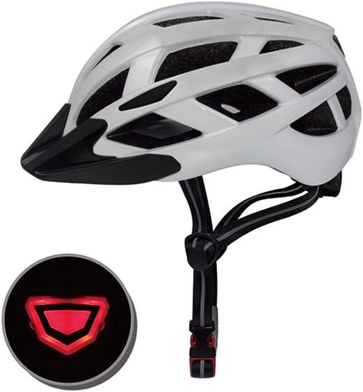 XRQ Casco de Bicicleta con Ajuste Desmontable para Mujer y Hombre ...