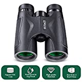 HUTACT Binoculars for Bird Watching, Ultra HD 10X42 for Adults Compact, FMC Complete