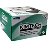 Kimwipes 34155 4.5 inch x 8.5 inch Disposable Wipes, 280/Box -2 pack by stanleysupply