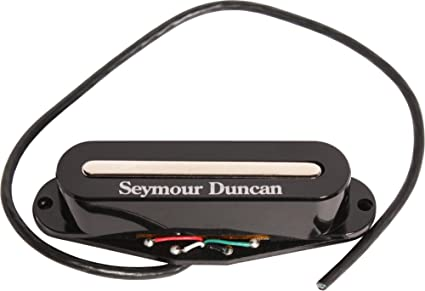 Amazon.com: Seymour Duncan STK-S2 Hot Single Coil Pickup Black Neck ...