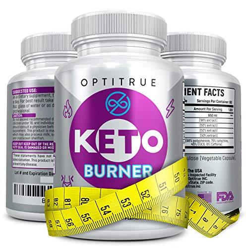Keto Diet Pills-Natural Weight Loss Ketogenic Diet Supplement-Advanced Formula Fat Burner-Boost Ketosis with Keto Diet Pills That Work Fast for Women Men-Exogenous Raspberry Ketones-Garcinia Cambogia (Best Supplements For Ketogenic Diet)