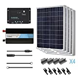 RENOGY Solar Panel 400W Poly Battery Ready Kit with Wanderer Controller