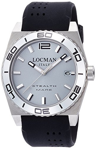 LOCMAN watch stealth Mare Quartz rotating bezel Men's 0211 021100AK-AGKSIK Men's [regular imported goods]