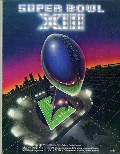 super bowl 12 program - 5