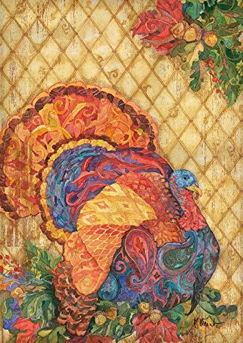 Toland Home Garden 1012233 Boho Turkey 28 x 40 Inch Decorative, House Flag (28