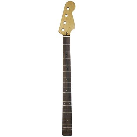 FLEOR 22 guitarra eléctrica Cuello Para Jazz Bass Eléctrica para ...