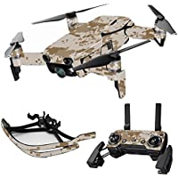MightySkins Skin for DJI Mavic Air Drone - Desert Camo | Max Combo Protective, Durable, and Unique Vinyl Decal wrap cover | Easy To Apply, Remove, and Change Styles | Made in the USA