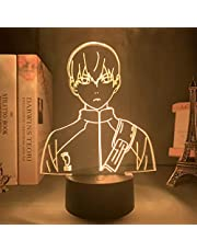 3D-illusie lamp led nachtlampje Anime Haikyuu Hinata Shoyo Sugaw Koushi Kageyama Tobio figuur met bewegingssensor cadeau