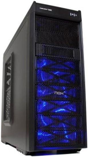 Nox Coolbay VX - NXCBAYVX - Caja PC, USB 3.0, Color Negro: Amazon.es: Informática