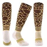 Samson Hosiery ® Print Giraffe Knee High Socks | Soccer Unisex