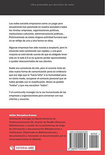 Plan social media y community manager EL PROFESIONAL DE LA INFORMACIÓN: Amazon.es: Julián Marquina Arenas: Libros