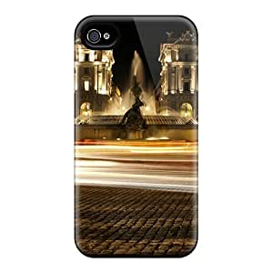 Iphone 4/4s Case Slim [ultra Fit] Piazza Esedra Protective Case Cover