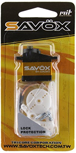 Savox SH-0262MG Super Speed Metal Gear Micro Digital Servo - Metal Tail Gear
