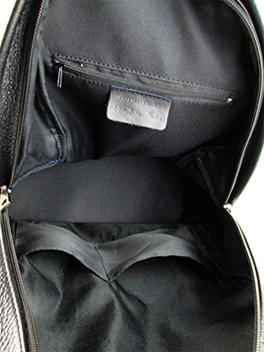 El Envío Libre De Las Compras En Línea zaino in vera pelle alta qualità made in Italy fg jeans nero Venta Nuevo 7btitdR