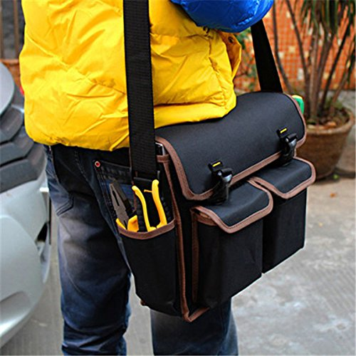 OlogyMart Multifunction 600D Polyester Material 13inch Electrician Canvas Tools Bag by OlogyMart (Image #1)