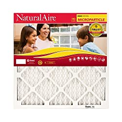 """AAF/FLANDERS 85256.011820 18"""" x 20"""" x 1"""", NaturalAire Micro Particle Pleated Furnace Filter"""