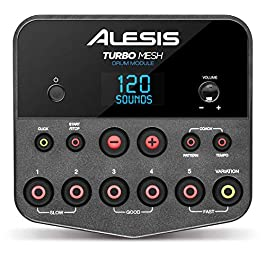 Alesis Turbo Drum Module – with Cable Snake Harness and Power Adapter