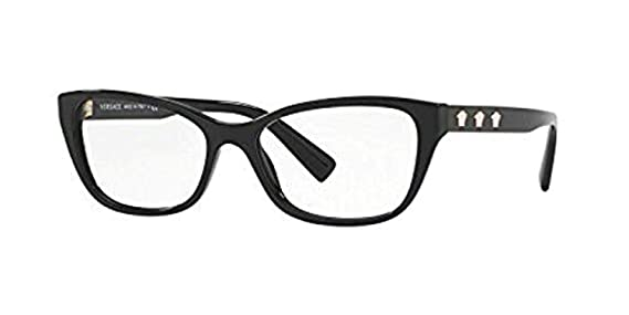 053ff537b86 Amazon.com  Versace Women s VE3249 Eyeglasses 52mm  Clothing