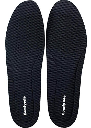 (US Men's 9-13 Size 1 Inch Height Increase Elevator Insoles Large Size For Men and Women By Comfysole)
