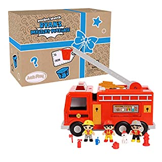 RYAN'S WORLD Large Fire Truck Vehicle