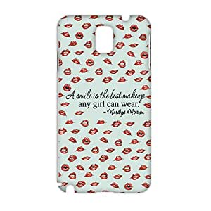Cool-benz Keep smiling 3D Phone Case for Samsung Galaxy Note3
