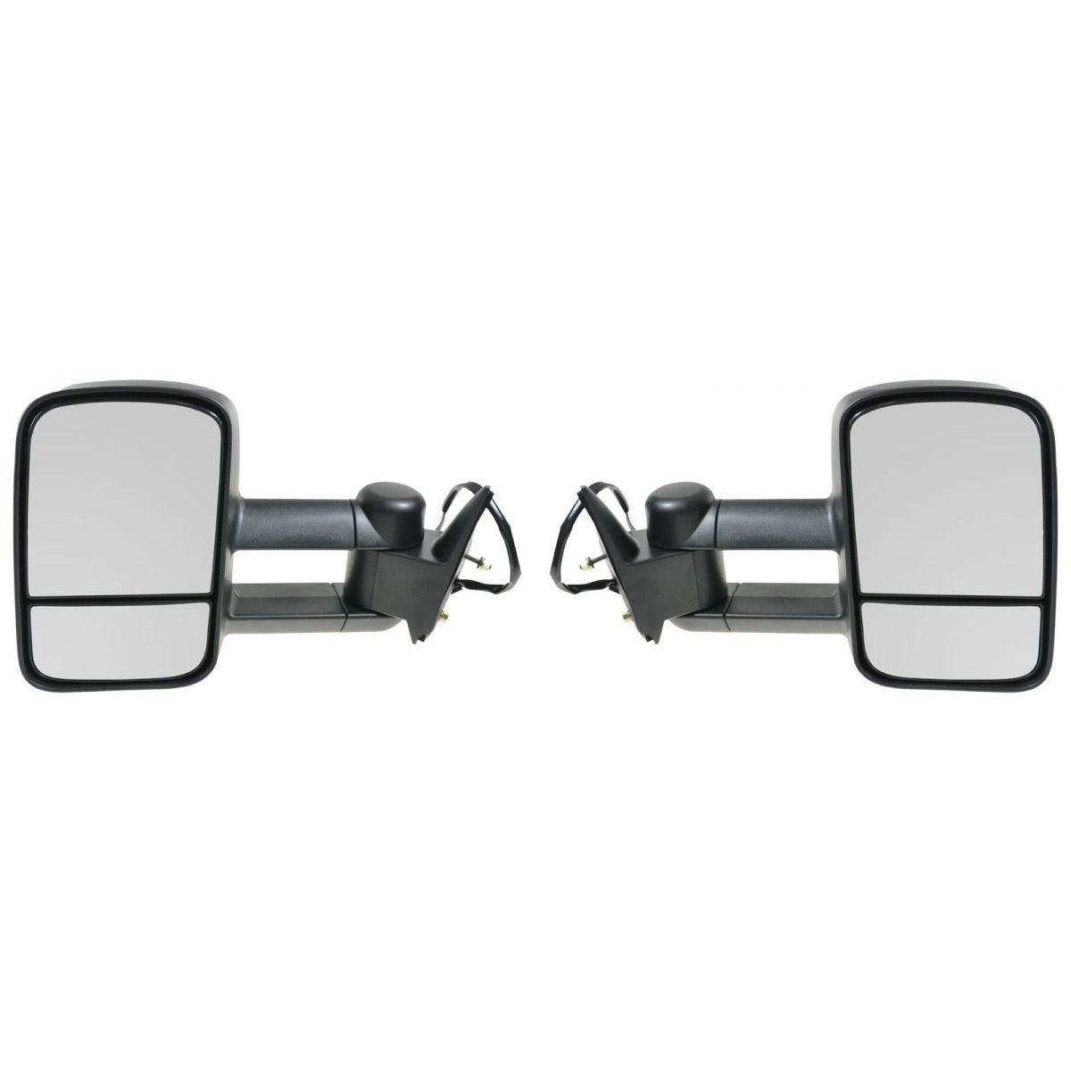APA Chevrolet Gmc C K 1500 2500 3500 Truck 88 - 98 Tow Power Heated Mirror Pair Set by Auto Parts Avenue