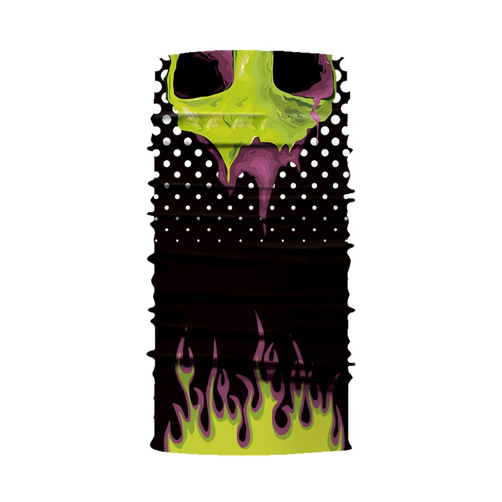 LLguz Ski Half Face Masks,Waterproof Riding Head Mask Headband Balaclava Headwear Neck Scarf Earmuffs Unisex for Outdoor Sports Winter Skiing Snowboard Cycling Motorcycle