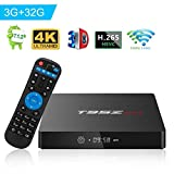 T95Z Max TV Box Android 7.1 UHD 4K Player Amlogic S912 Octa Core 3GB DDR3 32GB Emmc 2.4Ghz 5Ghz WiFi 1000M LAN Ethernet 64-Bit H.265 Bluetooth 4.0 DLNA Mini PC TV Boxes
