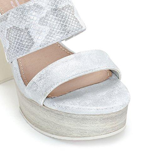 Blanco Donna Sandali amp;scarpe Scarpe Alti Alesya W7xSU8w4Xq