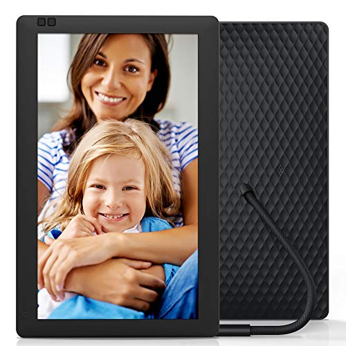 Nixplay Seed 13 Inch Widescreen Digital Wi-Fi Photo Frame W13B Black - Digital Picture Frame with IPS Display and 10GB Online Storage, Display and Share Photos with Friends via Nixplay Mobile App