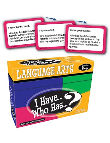 (Teacher Created Resources I Have... Who Has...? Language Arts 5-6 (7832))