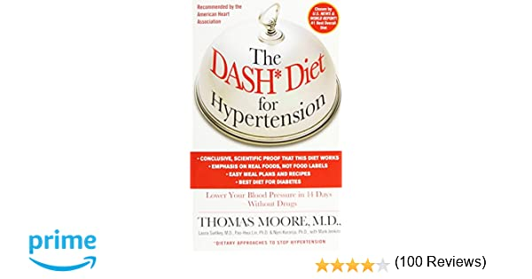 The DASH Diet for Hypertension: Thomas J. Moore, Mark Jenkins ...