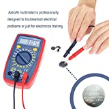 AstroAI Digital Multimeter with Ohm Volt Amp and