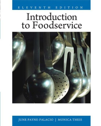 [PDF] Introduction to Foodservice (11th Edition) Free Download | Publisher : Prentice Hall | Category : Business | ISBN 10 : 0135008204 | ISBN 13 : 9780135008201