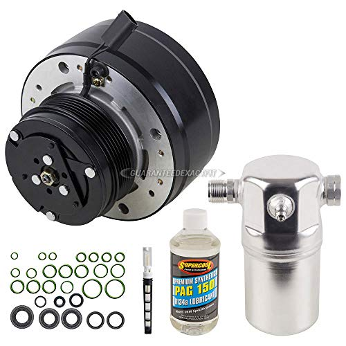 AC Compressor w/A/C Repair Kit For Chevy GMC Pickup Suburban Blazer Yukon - BuyAutoParts 60-80124RK -
