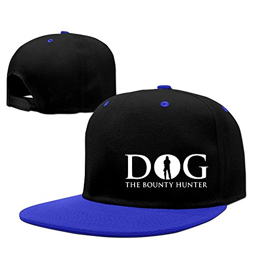 Adult Dog The Bounty Hunter Contrast Color Hip Hop Cap RoyalBlue
