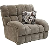 Catnapper Siesta Power Lay Flat Recliner in Porcini